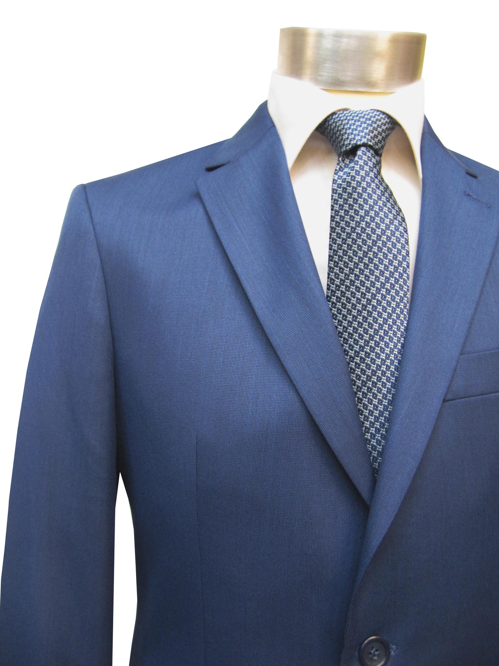 moderne slim fit herren anzug blau. Black Bedroom Furniture Sets. Home Design Ideas