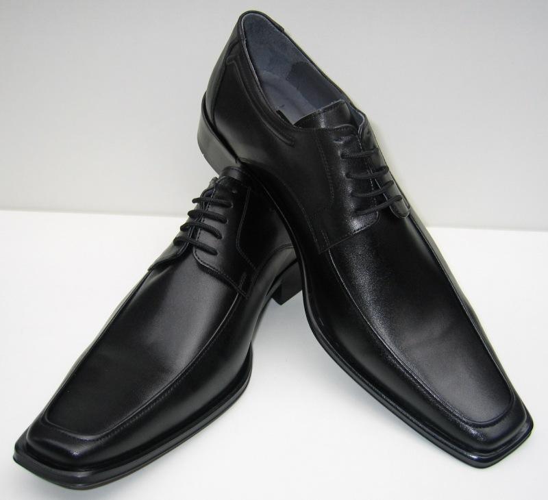 MUGA 577-SW - Zapatos de cordones de Piel para hombre Negro negro, color Negro, talla 45