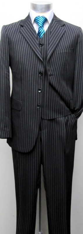 Muga Make Up Guru Africa: Muga Homme Rayures Costume+Gilet Noir`111*