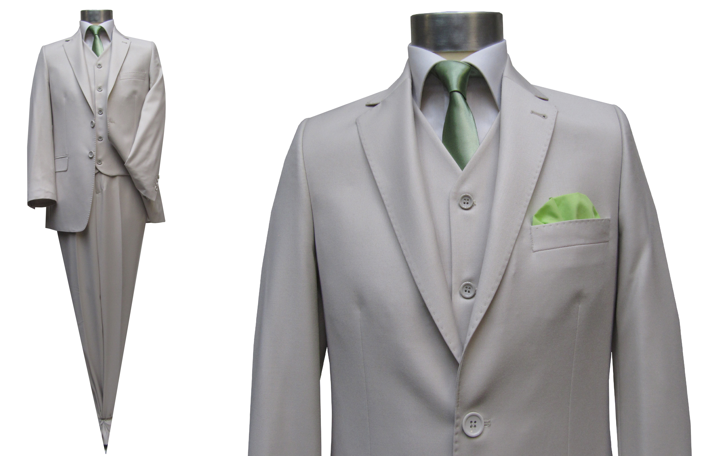 mmuga mens suit creambeige muga clothing suit. Black Bedroom Furniture Sets. Home Design Ideas