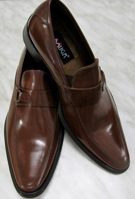 Muga 5698-BR - Zapatos de Cordones de Piel para Hombre Marrón Marrón, Color Marrón, Talla 45