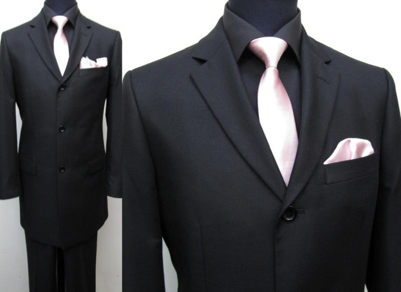 170 muga herren gehrock anzug longsakko schwarz ebay. Black Bedroom Furniture Sets. Home Design Ideas