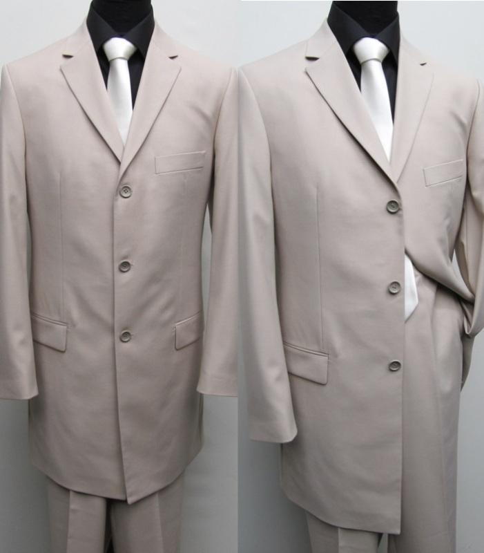 170 muga m nner herren gehrock anzug 120s beige ebay. Black Bedroom Furniture Sets. Home Design Ideas