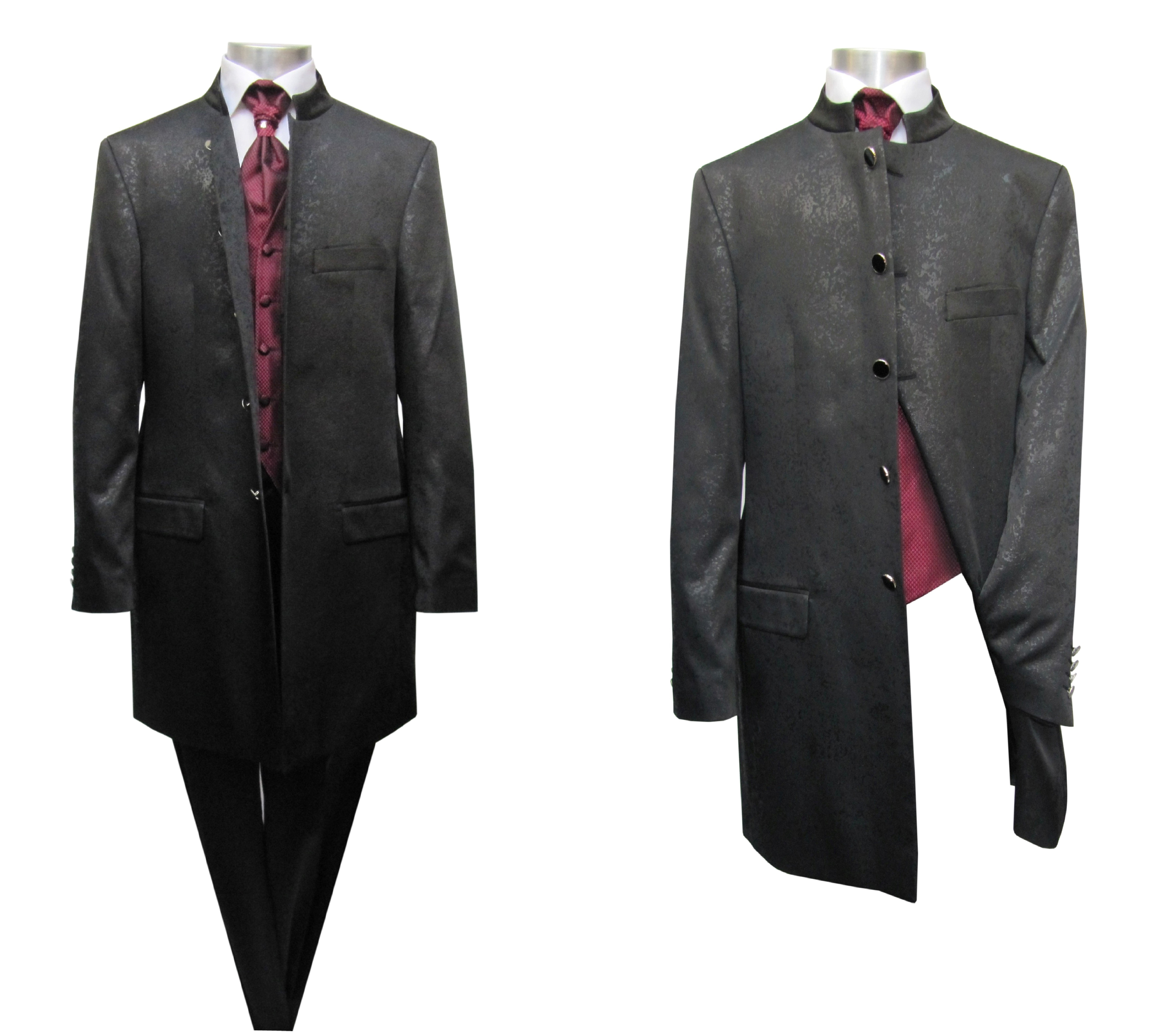Redingote Homme Costume Satin - Costume-Mariage f7f31b3105b