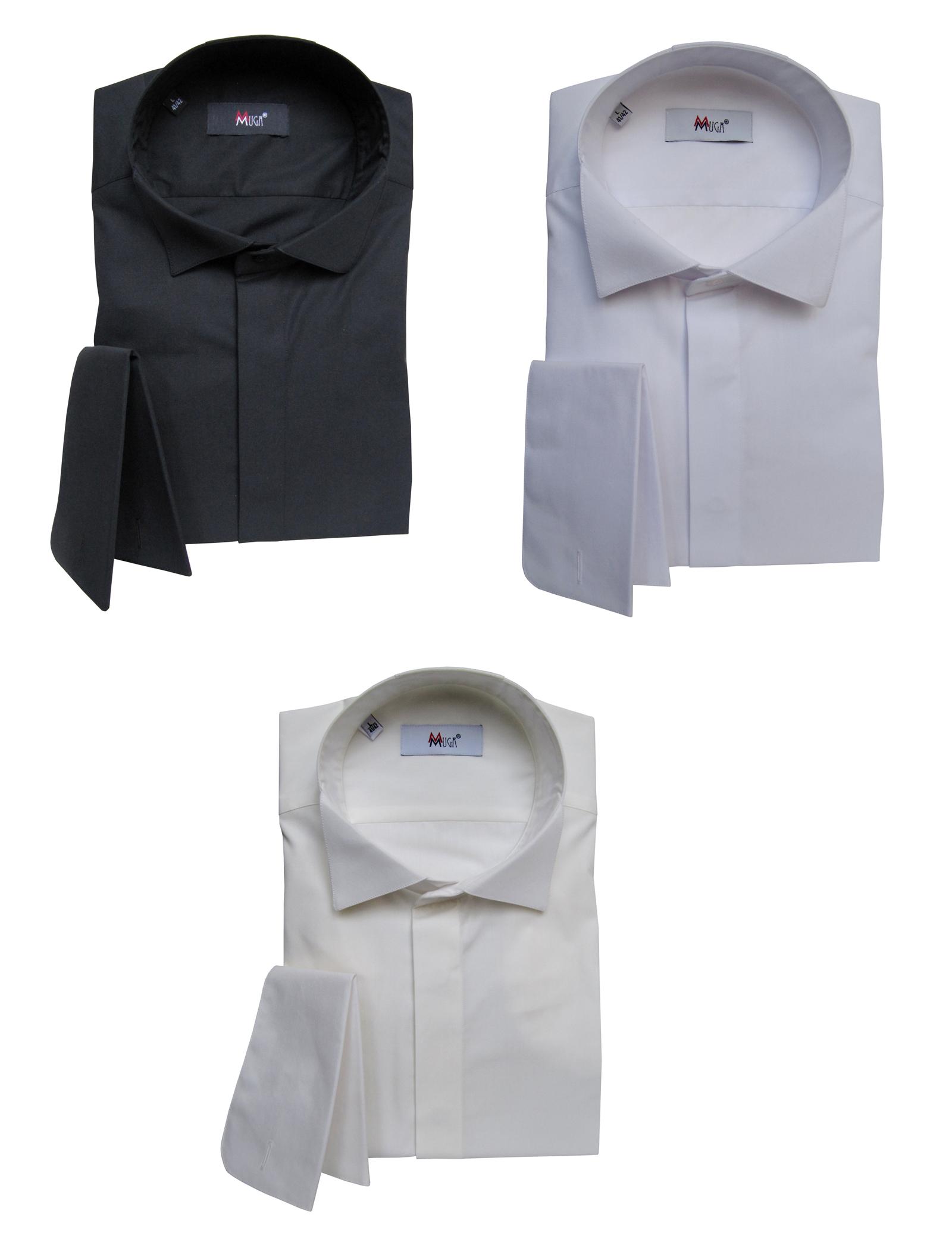 hemd glencheck schwarz weiß