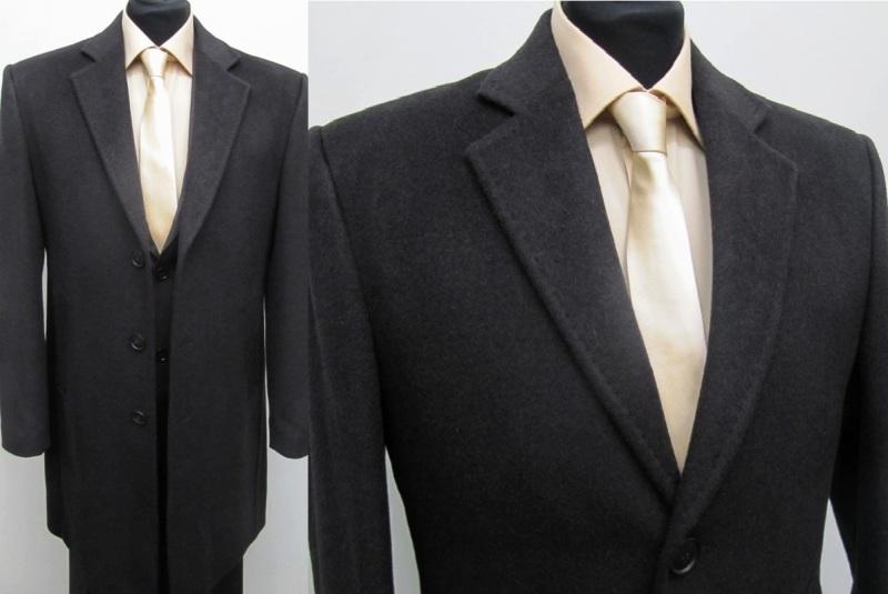 51 muga herren mantel wool kaschmir gr 60 braun ebay. Black Bedroom Furniture Sets. Home Design Ideas