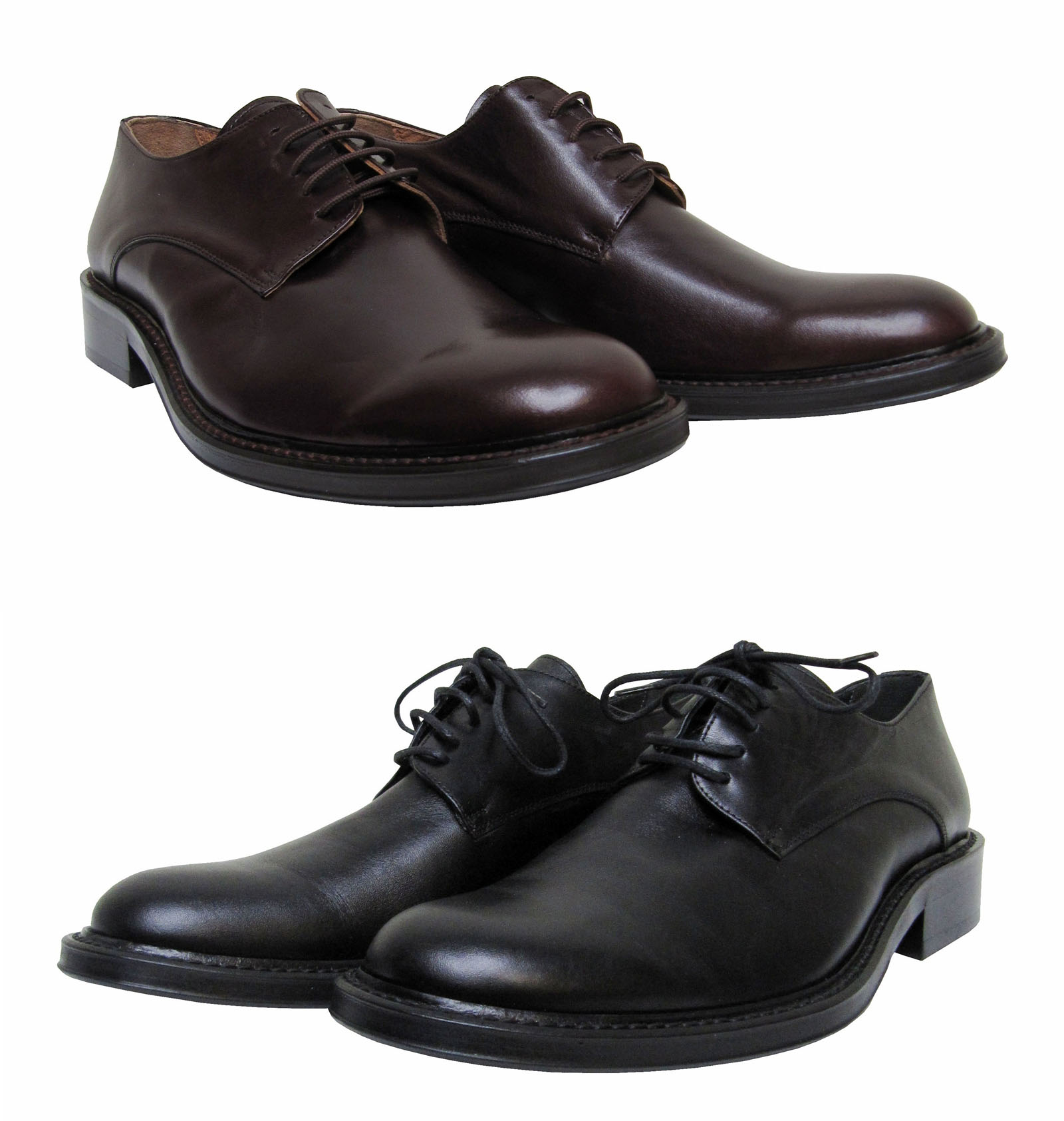 MUGA 4229-SW - Zapatos de cordones de Piel para hombre Negro negro, color Negro, talla 44