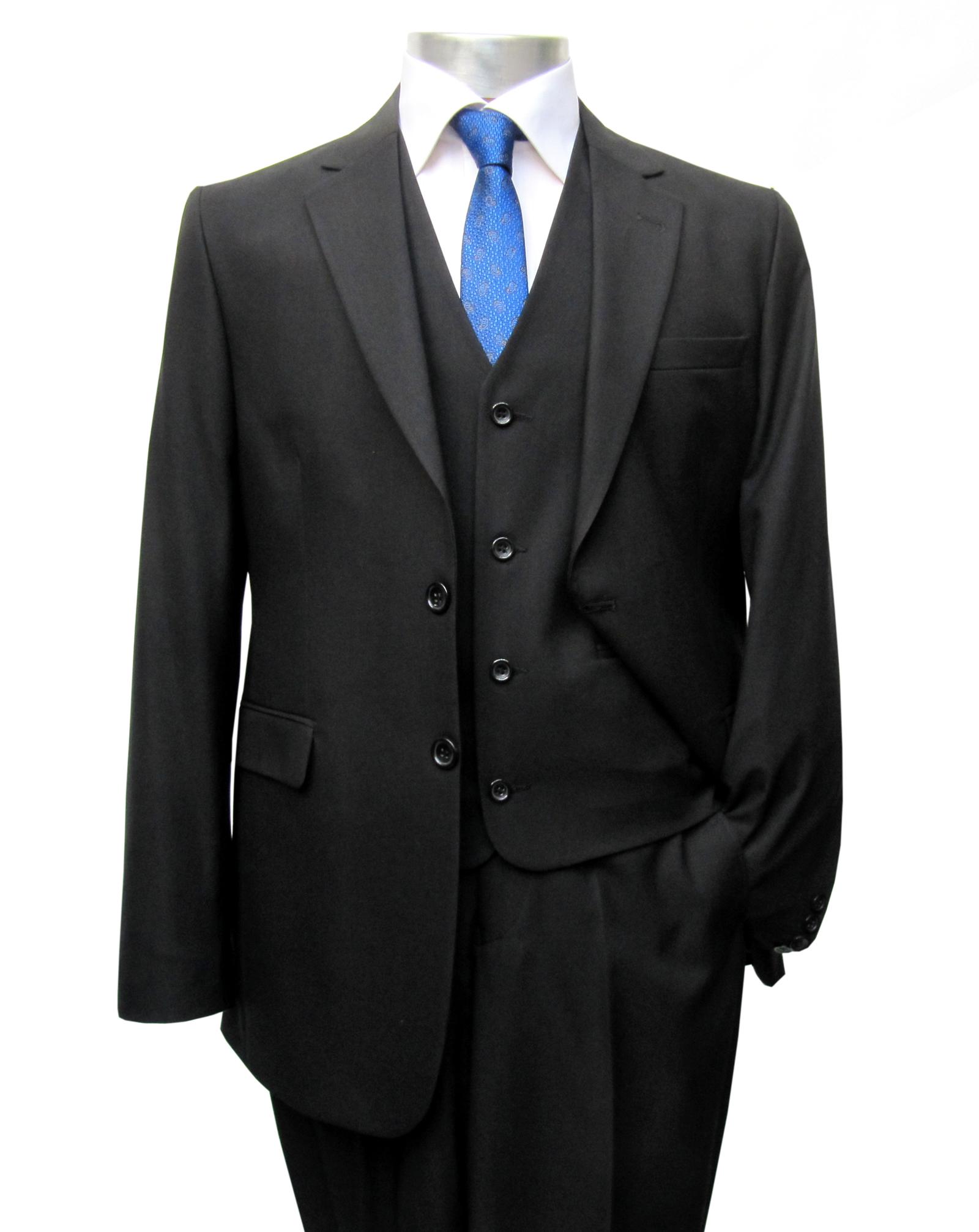 elegante muga herren anzug schwarz herrenausstatter k ln. Black Bedroom Furniture Sets. Home Design Ideas