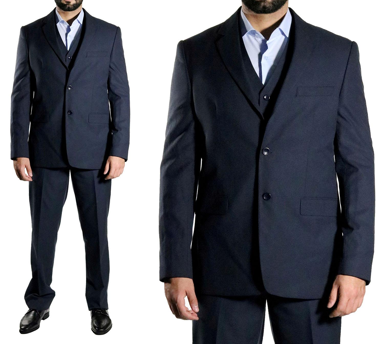 elegante muga herren anzug dunkelblau herrenausstatter. Black Bedroom Furniture Sets. Home Design Ideas