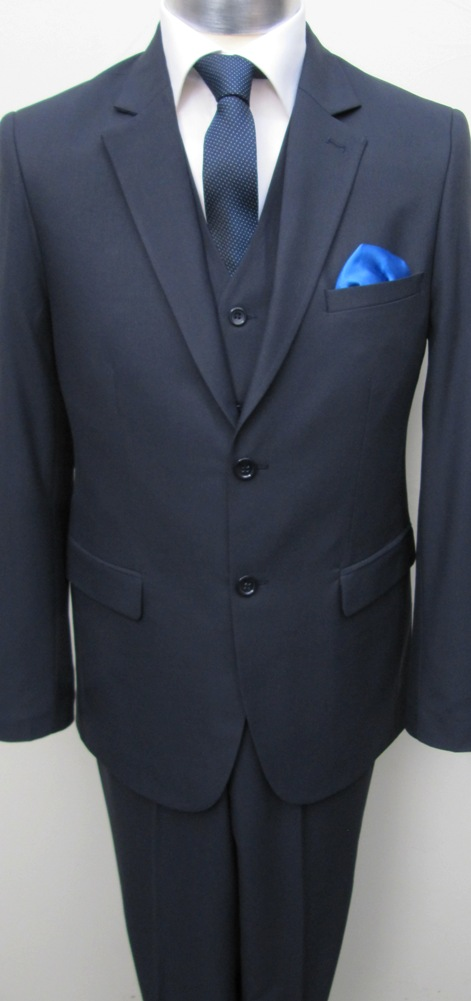 Muga Make Up Guru Africa: Muga Homme Costume+Gilet 120s Bleu Foncé
