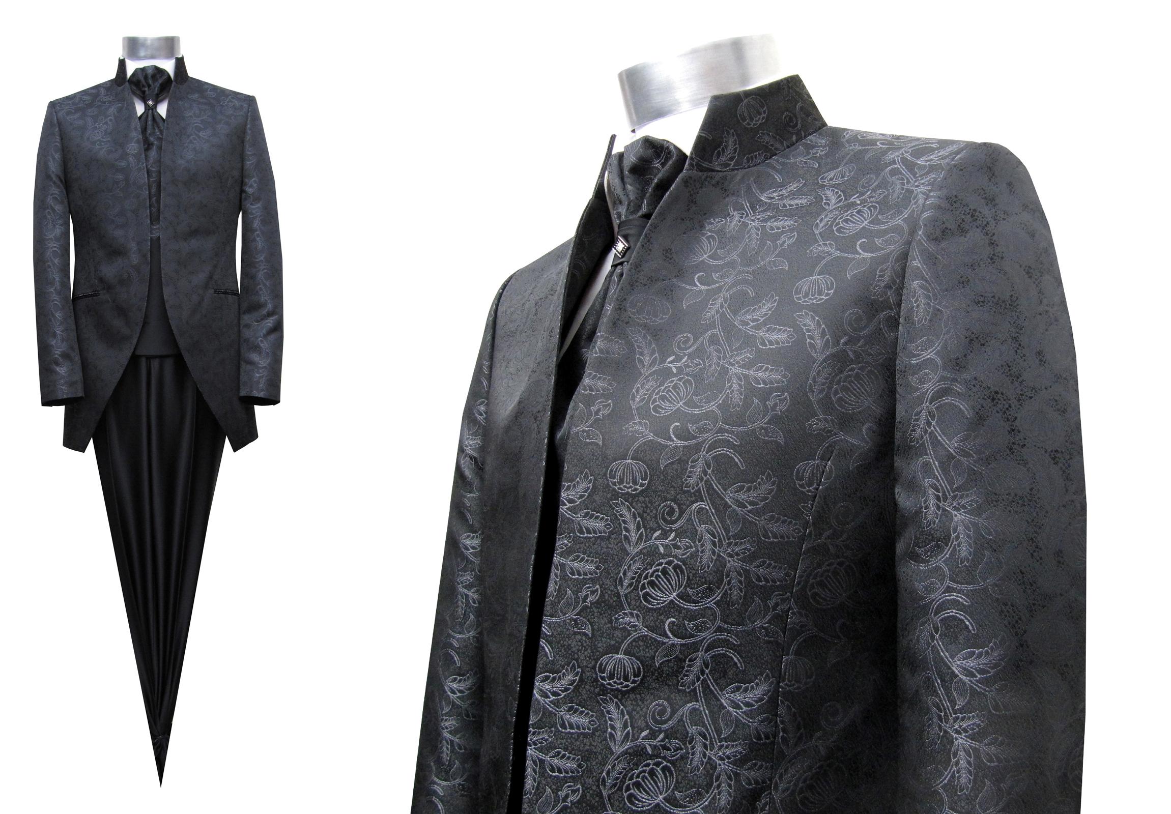 Stehkragen Gehrock Herren Anzug Hochzeitsanzug - Muga