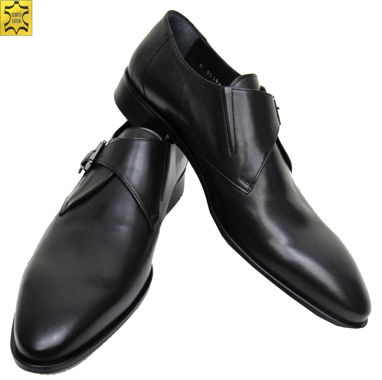 ce8b82974f7bb0 Elegante Monk Schuhe für viele Anläße Farbe Schwarz