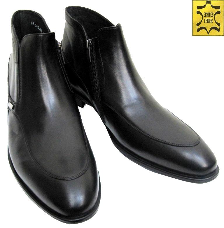 9287cb2898ce88 Elegante Herren Stiefelette für viele Anlässe Schwarz
