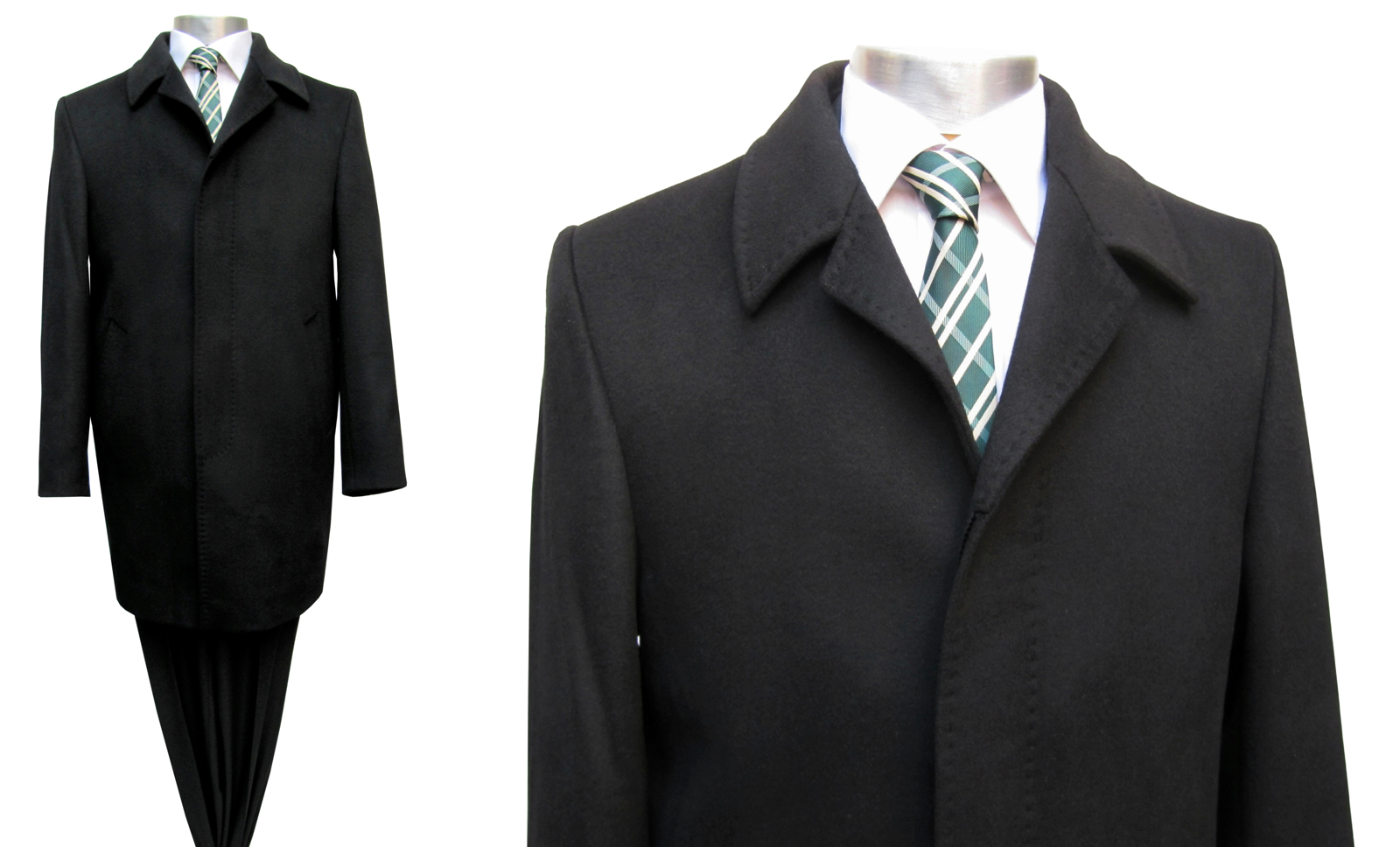 Mantel schwarz 44