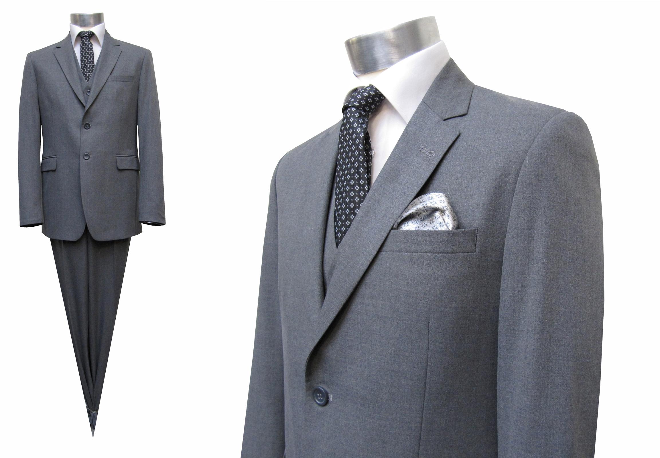 Anzug Uni-Schurwolle - Muga Herrenausstatter Hochzeit Mode d485461d7d