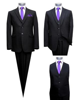 cheap for discount 19f77 3fca5 Anzug Uni-Schurwolle - Muga Herrenausstatter Hochzeit Mode