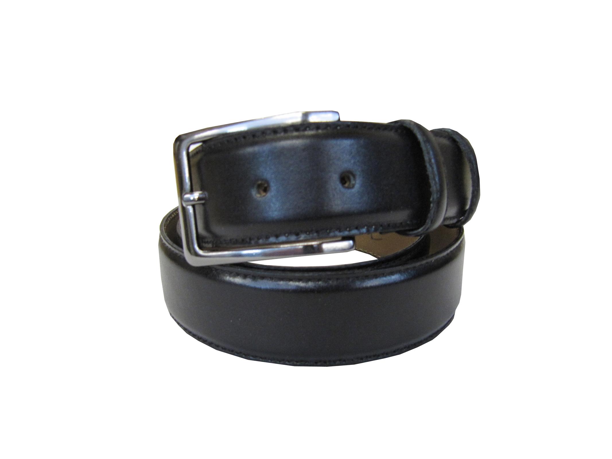 85cm bis 135cm 73MILES Leder Gürtel Wechselgürtel Wasserbüffel Schwarz Größen